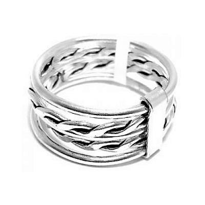 22e26c6c757a Anillo de Plata 925 lineas entrelazadas. BH joyas anillos de plata por mayor